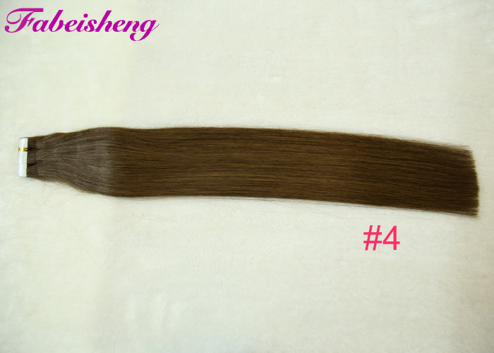 Dyed And Ironed Tape In Human Hair Extensions Straight 40 Pcs / Bundle