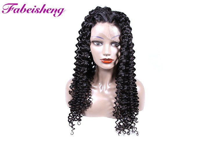Virgin Brazilian Human Hair Human Hair Lace Front Wigs 10 - 30 Inch Full Ends