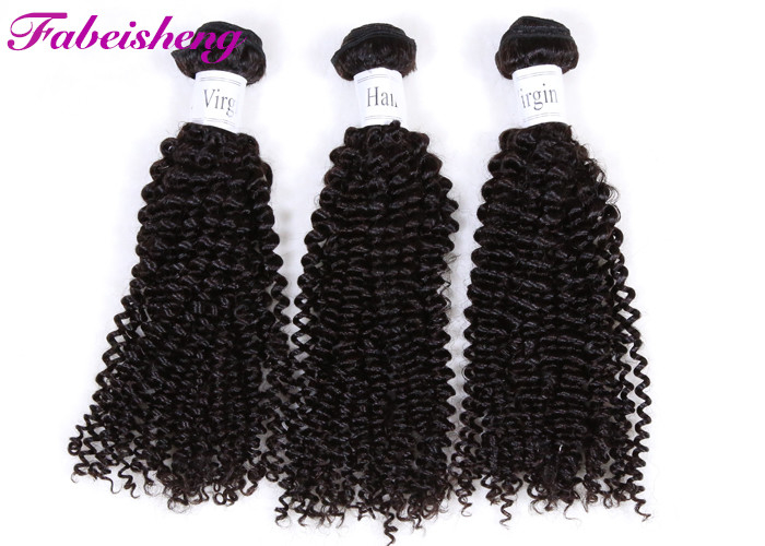 Deep Curly Virgin Peruvian Hair Extensions No Tangling Easy To Care